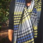 etole ariane portee detail couleur geometrique 150x150 - Étole - ARIANE