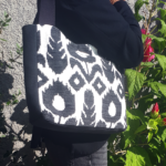 sac de ville camila noir et blanc 150x150 - Sac de ville - CAMILA
