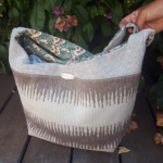 sac de ville tissu piece unique de createur 150x150 - Sac de ville - ANNA