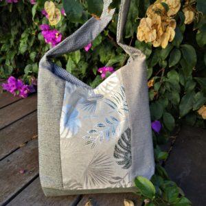 Babou sac de ville lin argente avec une anse scaled 300x300 - Sac de ville - BABOU