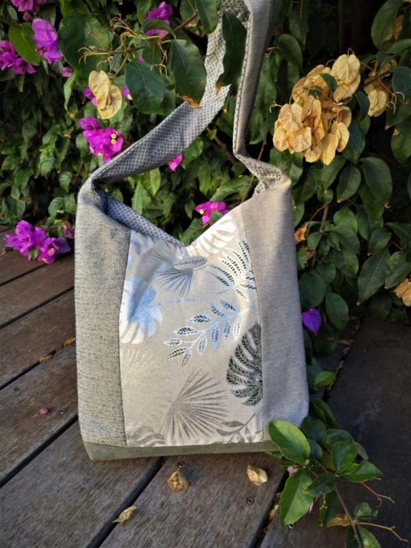 Babou sac de ville lin argente avec une anse scaled 600x800 - Sac de ville - BABOU