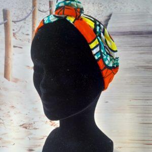 Bandeau en wax orange 300x300 - Collection Automne Hiver