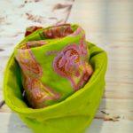 Bandeaux en wax vert tissu 1 150x150 - Bandeau en wax vert