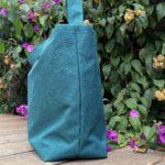 Cabas vert emeraude MIA de profil 150x150 - Cabas vert émeraude MIA