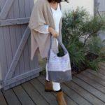 Diane sac de ville gris et argente porte 1 150x150 - Sac de ville - DIANE