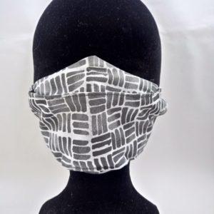 Masque en tissu gris et blanc scaled 300x300 - Masque en tissu gris et blanc