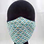 Masque en tissu motifs turquoises 150x150 - Masque en tissu motifs turquoises