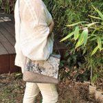 Sac bandouliere gris Kate en mouvement 150x150 - Sac bandoulière gris KATE