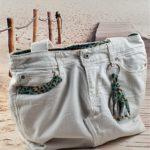 Sac en jean blanc Gabrielle de face 150x150 - Sac en jean blanc GABRIELLE