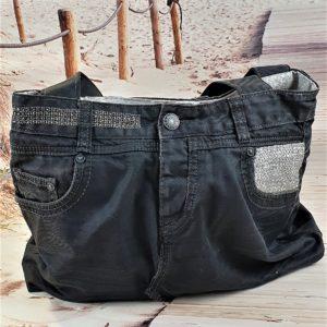 Sac en jean gris anthracite Astrid 300x300 - Accessoires de mode pour femmes