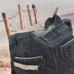 Sac en jean gris anthracite Astrid de dos 150x150 - Sac en jean gris anthracite ASTRID