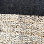 Sac en jean noir et beige Kalinka detail 150x150 - Sac en jean noir et beige KALINKA